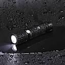 رخيصةأون مصابيح ليد ثنائية-U'King LED Flashlights 2000 lm LED LED بواعث 3 إضاءة الوضع مع البطارية ومحول الطاقة زوومابلي Adjustable Focus قابلة لإعادة الشحن Camping / Hiking / Caving Everyday Use متعددة الوظائف / معدن الألمنيوم