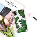 رخيصةأون حافظات لابتوب-غطاء من أجل Apple iPhone XS / iPhone XR / iPhone XS Max نموذج غطاء خلفي النباتات / كارتون ناعم TPU