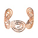 cheap Bracelets-Women's Bracelet Bangles Cuff Bracelet Geometrical Stylish western style Alloy Bracelet Jewelry Silver / Rose Gold / Champagne For Holiday Work Festival