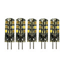 abordables Luces LED de Doble Pin-5pcs 2 W Luces LED de Doble Pin 180 lm G4 T 24 Cuentas LED SMD 2835 Encantador Blanco Cálido Blanco Fresco 12 V