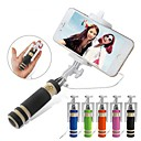 cheap Selfie Sticks-Selfie Stick Wired Extendable Max Length 60cm Android Android Android