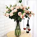 رخيصةأون أزهار اصطناعية-زهور اصطناعية 1 فرع كلاسيكي أوروبي النمط الرعوي Camellia أزهار الطاولة