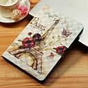 رخيصةأون Sony أغطية / كفرات-غطاء من أجل Samsung Galaxy Tab S4 10.5 (2018) / Tab A2 10.5 (2018) T595 T590 / Tab E 9.6 محفظة / حامل البطاقات / مع حامل غطاء كامل للجسم برج ايفل قاسي جلد PU