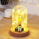رخيصةأون ديكورات خشب-1PC الصمام ليلة الخفيفة أصفر دس بالطاقة <=36 V
