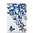 ieftine Carcase iPhone-Maska Pentru Apple iPad Mini 5 / iPad nou de aer (2019) / iPad Mini 3/2/1 Portofel / Titluar Card / Cu Stand Carcasă Telefon Fluture Greu PU piele