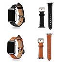 رخيصةأون ساعات الرجال-حزام إلى أبل ووتش سلسلة 5/4/3/2/1 Apple بكلة كلاسيكية جلد طبيعي شريط المعصم