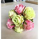 رخيصةأون أزهار اصطناعية-زهور اصطناعية 1 فرع كلاسيكي أوروبي النمط الرعوي الورود أزهار الطاولة