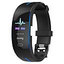 Χαμηλού Κόστους Ανδρικά ρολόγια-H66 PLUS Άντρες Έξυπνο βραχιόλι Android iOS Bluetooth Smart Αθλητικά Αδιάβροχη Συσκευή Παρακολούθησης Καρδιακού Παλμού Μέτρησης Πίεσης Αίματος ΗΚΓ + PPG / Παρακολούθηση Δραστηριότητας