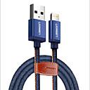 levne iPhone kabely a adaptéry-Osvětlení Adaptér kabelu USB Rychlé nabíjení Kabel Pro iPad / iPhone 150 cm Pro Nylon / TPE