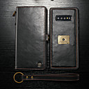 cheap Galaxy S Series Cases / Covers-CaseMe Case For Samsung Galaxy Galaxy S10 / Galaxy S10 Plus / Galaxy S10 E Wallet / Card Holder / Shockproof Full Body Cases Solid Colored Hard PU Leather for Galaxy S10 / Galaxy S10 Plus / Galaxy