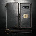 levne Galaxy S pouzdra / obaly-CaseMe Carcasă Pro Samsung Galaxy Galaxy S10 / Galaxy S10 Plus / Galaxy S10 E Peněženka / Pouzdro na karty / Nárazuvzdorné Celý kryt Jednobarevné Pevné PU kůže pro Galaxy S10 / Galaxy S10 Plus
