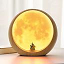 ieftine Lumini Nocturne LED-1 buc LED-uri de lumină de noapte Galben USD Creative <=36 V