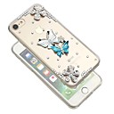 levne iPhone pouzdra-Carcasă Pro Apple iPhone XR / iPhone XS Max S kamínky / Průhledné / Udělej si sám Zadní kryt Motýl Měkké TPU pro iPhone XS / iPhone XR / iPhone XS Max