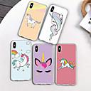abordables Coques d'iPhone-Coque Pour Apple iPhone XR / iPhone XS Max Motif Coque Licorne / Bande dessinée / Fleur Flexible TPU pour iPhone XS / iPhone XR / iPhone XS Max