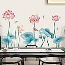 halpa Sisustustarrat-Koriste-seinätarrat - 3D-seinätarrat / Animal Wall Tarrat Kukkakuvio / Kasvitiede / 3D Kylpyhuone / Ruokailuhuone / Työhuone / toimisto