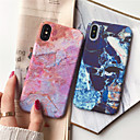 abordables Coques d'iPhone-Coque Pour Apple iPhone XS / iPhone XS Max Ultrafine / Motif Coque Marbre Dur PC pour iPhone XS / iPhone XR / iPhone XS Max