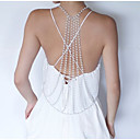 ieftine Bijuterii de Corp-Pentru femei Bijuterii de corp 106+6 cm Corp lanț / burtă lanț Auriu La modă Imitație de Perle / Aliaj Costum de bijuterii Pentru Night Out & ocazie speciala Vară