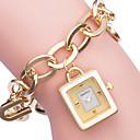 ieftine Ceasuri Damă-ASJ Pentru femei Ceas Elegant ceas de aur Japoneză Quartz Alb / Auriu Ceas Casual Analog Elegant - Auriu Argintiu / SSUO SR626SW + CR2025