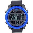 levne Pánské-Pánské Sportovní hodinky japonština Digitální Pryž Černá 100 m Voděodolné Smart Bluetooth Digitální Outdoor Módní - Modrá Jeden rok Životnost baterie
