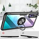 billige Bil Tågelygter-Etui Til Huawei P20 / P20 Pro Ringholder / Transparent Bagcover Ensfarvet Hårdt Silikone for Huawei P20 / Huawei P20 Pro / Huawei P20 lite