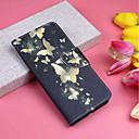 Недорогие Нормальные зарядные устройства-Кейс для Назначение Apple iPhone XR / iPhone XS Max Кошелек / Бумажник для карт / со стендом Чехол Бабочка Твердый Кожа PU для iPhone XS / iPhone XR / iPhone XS Max