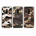 halpa Galaxy S -sarjan kotelot / kuoret-Etui Käyttötarkoitus Samsung Galaxy Galaxy S10 / Galaxy S10 Plus Himmeä / Kuvio Takakuori Armeijatyyli Pehmeä TPU varten S9 / S9 Plus / S8 Plus