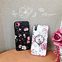 abordables Coques d'iPhone-Coque Pour Apple iPhone XR / iPhone XS Max Avec Support / Ultrafine / Motif Coque Fleur Flexible TPU pour iPhone XS / iPhone XR / iPhone XS Max