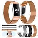 cheap Watch Bands for Fitbit-Watch Band for Fitbit Charge 3 / Charge 3 SE / Special Editon Fitbit Milanese Loop Metal Wrist Strap