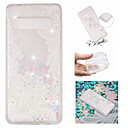 cheap Galaxy S Series Cases / Covers-Case For Samsung Galaxy Galaxy S10 Plus / Galaxy S10 E Flowing Liquid / Pattern / Glitter Shine Back Cover Glitter Shine / Flower Soft TPU for S9 / S9 Plus / S8 Plus