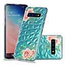 رخيصةأون حافظات / جرابات هواتف جالكسي S-غطاء من أجل Samsung Galaxy S9 / S9 Plus / S8 Plus ضد الصدمات / شفاف / نموذج غطاء خلفي زهور ناعم TPU