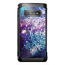 halpa Galaxy S -sarjan kotelot / kuoret-BENTOBEN Etui Käyttötarkoitus Samsung Galaxy Galaxy S10 Plus Iskunkestävä / Pinnoitus / Kuvio Takakuori Mandala / Scenery Kova PU-nahka / TPU / PC varten Galaxy S10 Plus