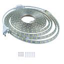 billige Lampesæt-kwb 5m skinne indretning led strip lys 220v fleksibel vandtæt reb lys 5050 300leds til indendørs udendørs ambient kommerciel belysning dekoration
