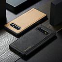 رخيصةأون حافظات / جرابات هواتف جالكسي S-غطاء من أجل Samsung Galaxy Galaxy S10 / Galaxy S10 Plus / Galaxy S10 E ضد الصدمات / اصنع بنفسك غطاء خلفي لون سادة قاسي TPU