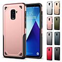 رخيصةأون حافظات / جرابات هواتف جالكسي A-غطاء من أجل Samsung Galaxy A8 Plus 2018 / A8 2018 ضد الصدمات غطاء خلفي لون سادة / درع قاسي الكمبيوتر الشخصي إلى A5(2018) / A6 (2018) / A6+ (2018)