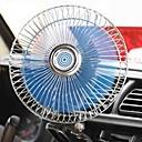 halpa Nopeat laturit-6 tuuman auton tuuletin säädettävä nopeus pyörivä suuri määrä tuulen hiljainen clip tuuletin 12 / 24v