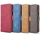 رخيصةأون إكسسوارات سامسونج-غطاء من أجل Samsung Galaxy Note 9 / Note 8 حامل البطاقات / قلب غطاء كامل للجسم لون سادة قاسي جلد PU
