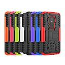 رخيصةأون أغطية أيفون-غطاء من أجل موتورولا Moto Z3 Play / موتو Z4 اللعب / Moto X4 ضد الصدمات / مع حامل غطاء خلفي درع قاسي الكمبيوتر الشخصي