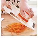 preiswerte Utensilien für Früchte & Gemüse-5-in-1-Multifunktions-Edelstahl-Gemüsereibe, die Gemüsehobel mit einstellbarer Karottenraspel-Zwiebelschneidemaschine schneidet
