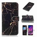お買い得  Galaxy A シリーズ ケース/カバー-ケース 用途 Samsung Galaxy Galaxy A7(2018) / A3(2017) / A5(2017) ウォレット / カードホルダー / フリップ フルボディーケース マーブル ハード PUレザー