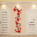 cheap Decoration Stickers-Decorative Wall Stickers - 3D Wall Stickers Floral / Botanical Indoor