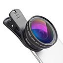 رخيصةأون كاميرا هاتف جوال-عدسة الهاتف المحمول عدسة زاوية كبيرة / عدسة كبيرة زجاج / سبيكة ألومنيوم 12.5X ماكرو 50 mm 15 m 110 ° إبداعي / كوول / مضحك