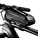 ieftine Ghidon & Mânere & Suport-1 L Telefon mobil Bag Impermeabil Portabil Fermoar Impermeabil Geantă Motor PU piele EVA Geantă Biciletă Geantă Ciclism Ciclism Bicicletă
