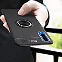 رخيصةأون إكسسوارات سامسونج-غطاء من أجل Samsung Galaxy A6 (2018) / A6+ (2018) / Galaxy A7(2018) ضد الصدمات / حامل الخاتم / نحيف جداً غطاء خلفي لون سادة ناعم TPU / معدن