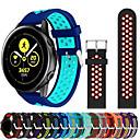 رخيصةأون ساعات ذكية-حزام إلى Samsung Galaxy Watch 42 / Samsung Galaxy Active Samsung Galaxy عصابة الرياضة سيليكون شريط المعصم