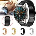 Недорогие Ремешки для часов Huawei-Ремешок для часов для Huawei Watch GT / Watch 2 Pro Huawei Спортивный ремешок Металл / Нержавеющая сталь Повязка на запястье