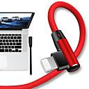 abordables Cables y Adaptadores para iPhone-Iluminación Cable 1,0 m (3 pies) Trenzado / Carga rapida Nailon / TPE Adaptador de cable USB Para iPad / iPhone