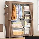 billige Rejsetasker-diy enkle fold uvævede garderobe opbevaring organizer skab møbler kabinet soveværelse møbler forstærkning stuvet skab