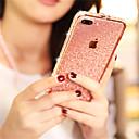 رخيصةأون أغطية أيفون-غطاء من أجل Apple iPhone XS / iPhone XR / iPhone XS Max حجر كريم / بريق لماع غطاء خلفي بريق لماع قاسي معدن