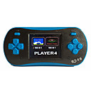 cheap Game Consoles-RS-16 Retro Handheld Game Player for Kids Portable Gaming System Video Game Player 2.5 LCD Built-in 260 Classic Games