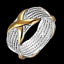 ieftine Bijuterii de Păr-Pentru femei Clasic Band Ring Argilă Stilat Simplu Inele la Modă Bijuterii Argintiu Pentru Zilnic Muncă 7 / 8